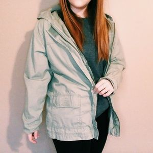 Blassport Jackets & Coats - Vintage Sage Green Blassport Utility Jacket